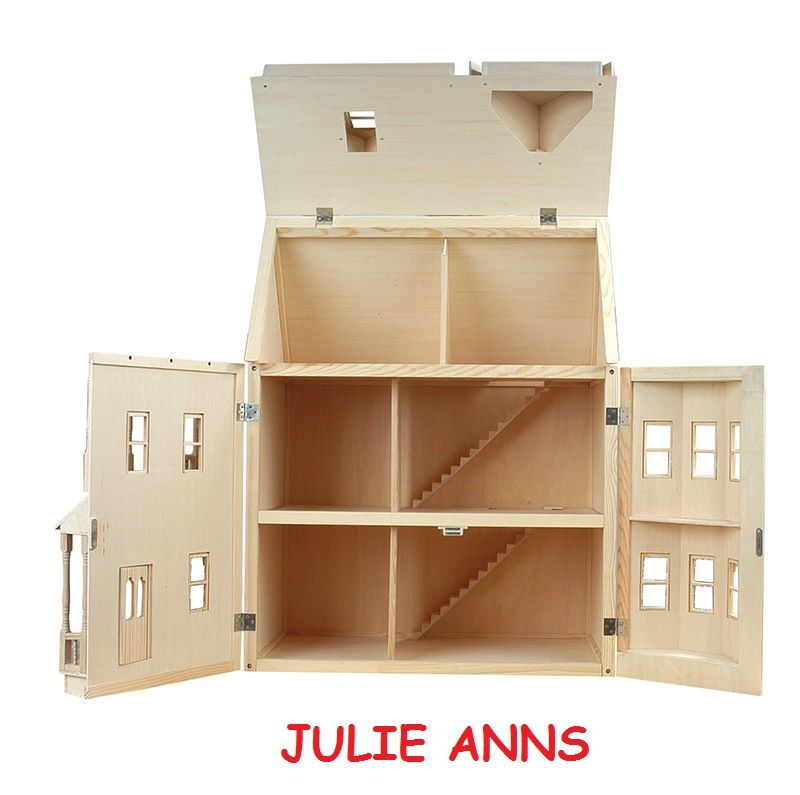 Ashburton Dolls House As Shown On Itv 60 Minute Makeover